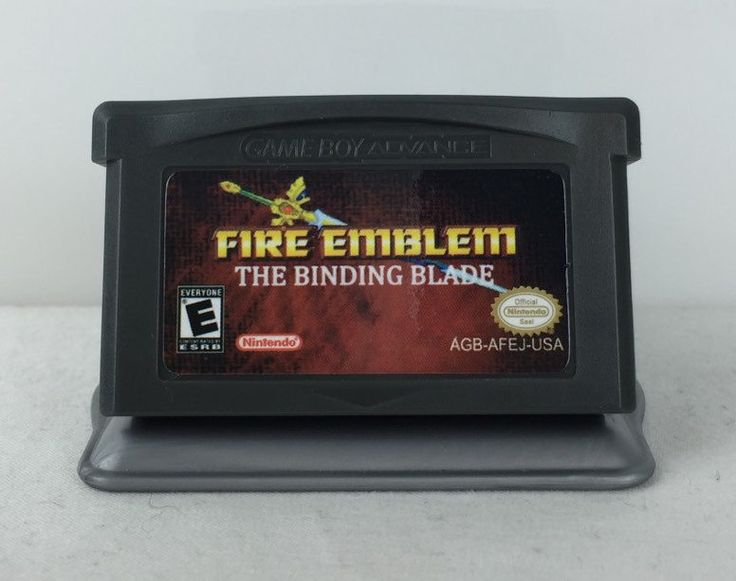 Fire Emblem - The Binding Blade - Nintendo GBA Reproduction by NextogoGames on Etsy