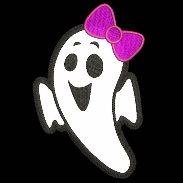 Ghost girl applique embroidery machine design Halloween Ghost Digital Applique Instant download pes 4x4 5x7 6x10 patterns digital  by SvgEmbroideryDesign on Etsy