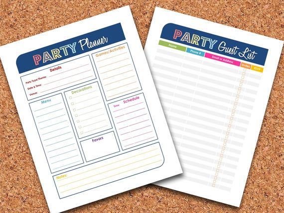Best 25+ Party planning printable ideas on Pinterest Party plan - event planning checklist ideas