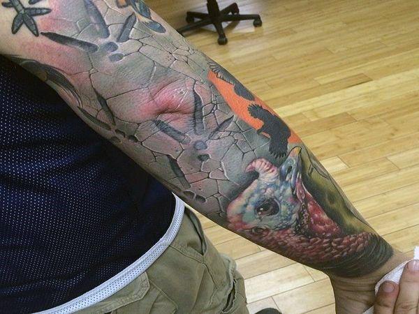 Top 40 Best Turkey Tattoos For Men