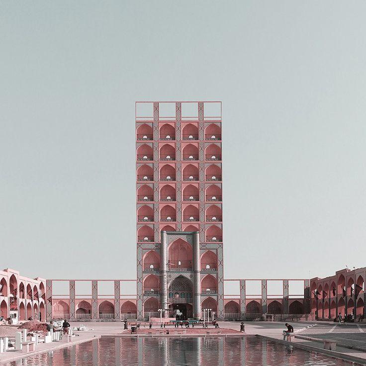 Mohammad Hassan Forouzanfar S Rethinks Iranian Monuments As High Rises 이미지 포함