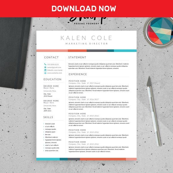 The  Best Modern Resume Template Ideas On   Modern