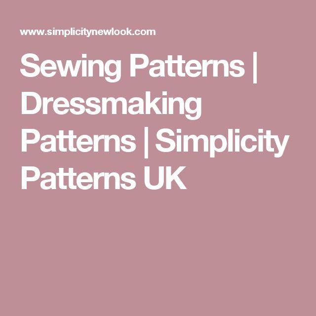 Sewing Patterns | Dressmaking Patterns | Simplicity Patterns UK