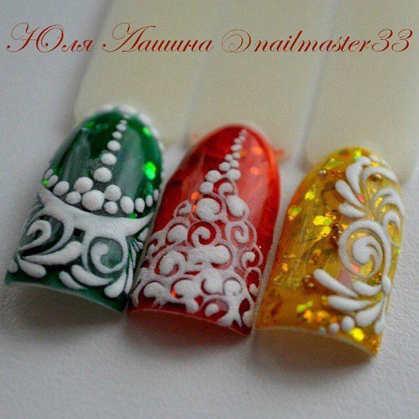 Diseño de uñas aquí! ♥ ♥ ♥ Foto Lecciones en Video manicura | VK