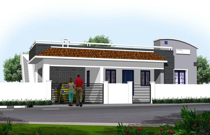 Individual House Design Chennai And Home Rajinikanth In Manapakkam Houses Modern Plans Mode In 2020 House Front Door Design Small House Front Design House Front Design