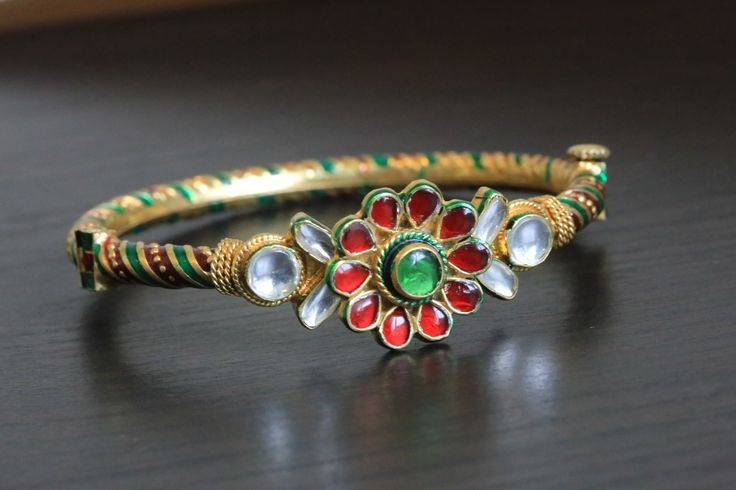Kundan Bangle Bracelet