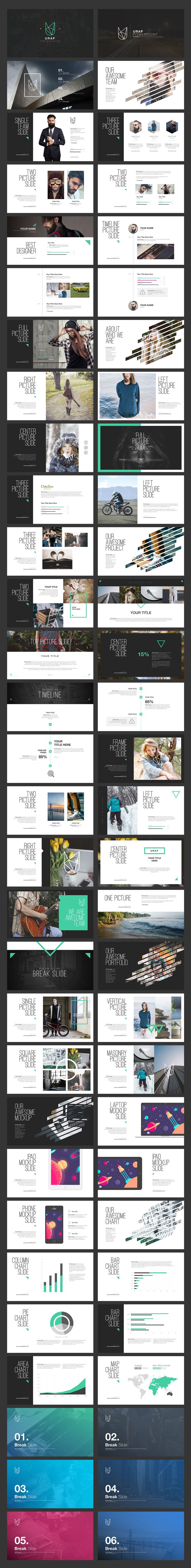 URAP PowerPoint Template by Angkalimabelas on @creativemarket                                                                                                                                                                                 More