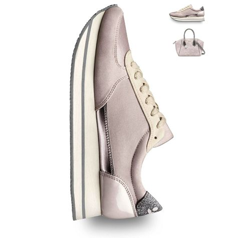 Lift up sneakers! Plateau soles and sporty chic. Art.-Nr.: 23705