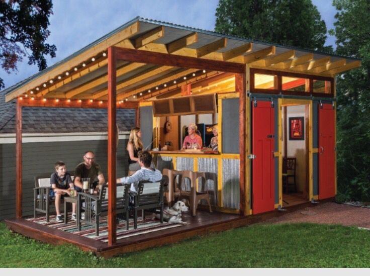 18 best pub shed images on pinterest backyard ideas for Garden shed pub