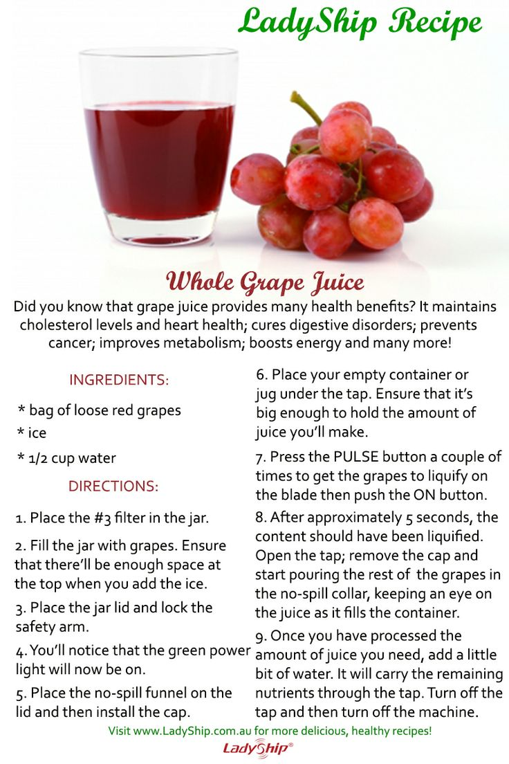 Enjoy a healthy and delicious drink this weekend! Make your own whole grape juice using your LadyShip Organic Essence Extractor! Here's our recipe to guide you! And if you still do not have this amazing kitchen workhorse, order now from our website! Click here: http://ladyship.com.au/