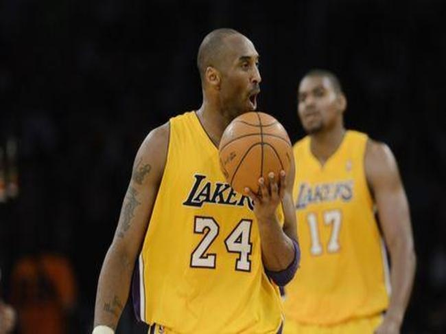 Kobe, maybe the greatest Laker in history and Andrew has a bright future