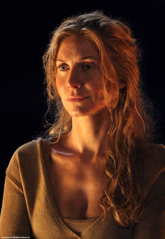 Favorite character on Lost...I cried so hard when she died. And she's so unbelievably pretty.