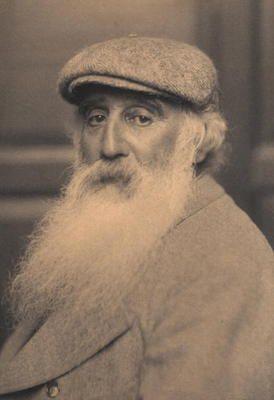 Bild:   French School - Portrait of Camille Pissarro (1830-1903) (b/w photo)