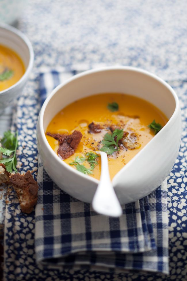 Squash and Pear Soup