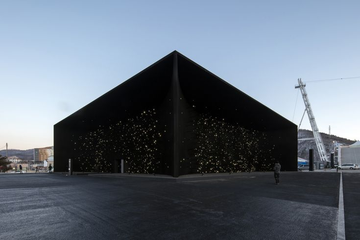Gallery of Asif Khan Unveils 'Darkest Building on Earth' For Winter Olympics Pavilion - 5