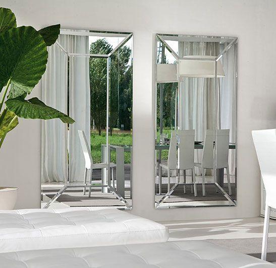 espejo moderno rectangular costantia