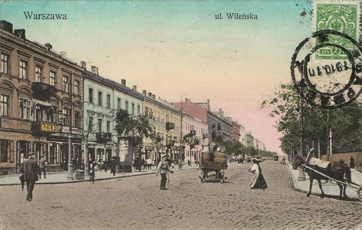 Warszawa, ul.Wilenska XIX w.