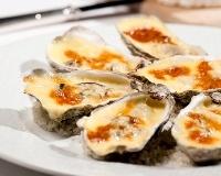 Huîtres au camembert  Recette postée par L'huître de Normandie