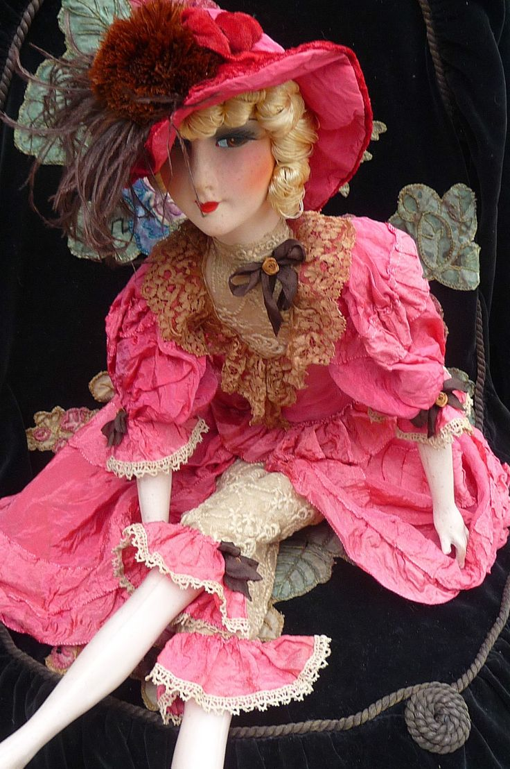 171 best boudoir dolls images on pinterest half dolls vintage