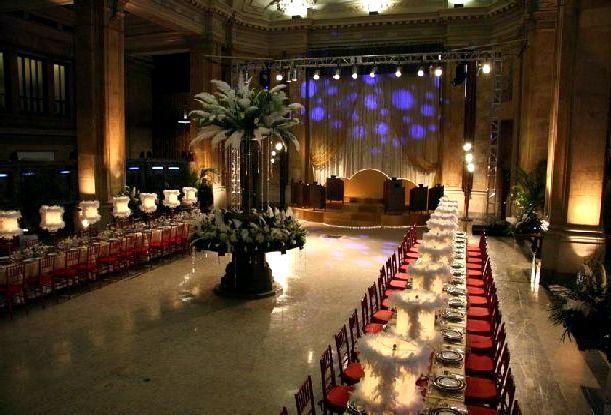 Gossip Girl Prom Long Dining Table Decor 4176
