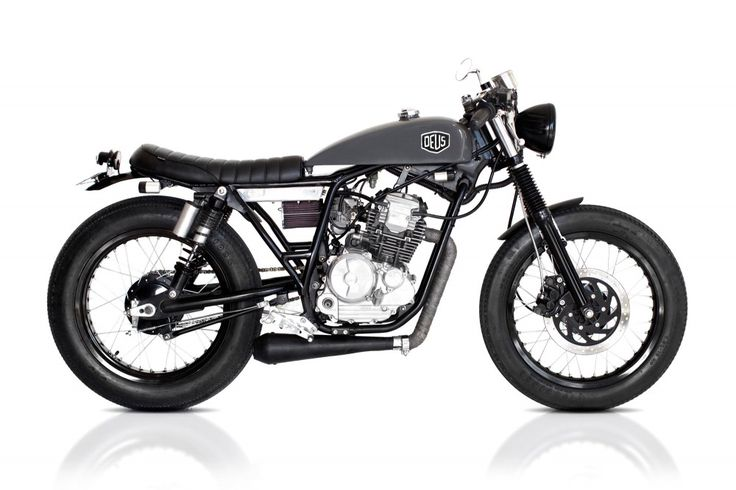 If they only had a shop in London | Cafe Scorpio (Yamaha 225) | Deus Ex Machina