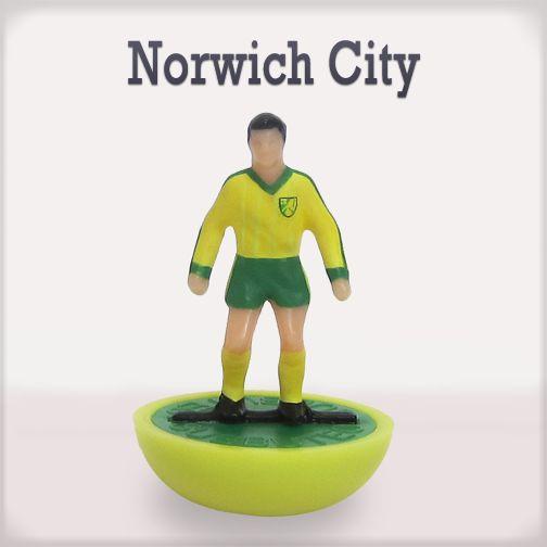 Norwich City #edicola #collezione #subbuteo