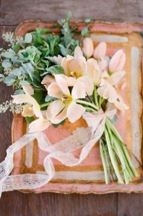 bouquet french wedding style