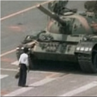 The unknown rebel from tiananmen square