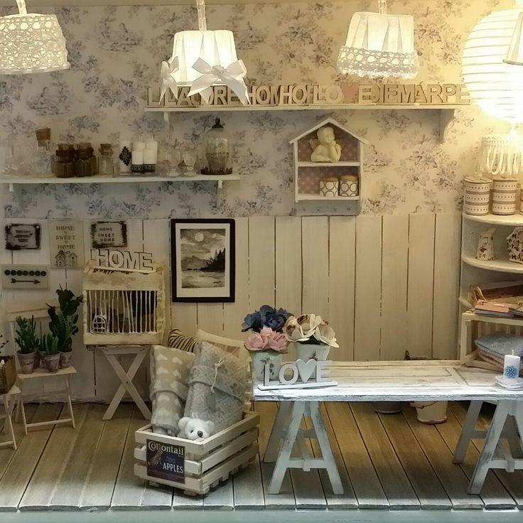 Miniature interior shop. Scale 1:12