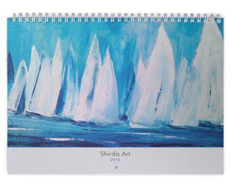 Calendar Art Wall Calendar Maritime 2016 Diary 2016 by ArtDuSoleil