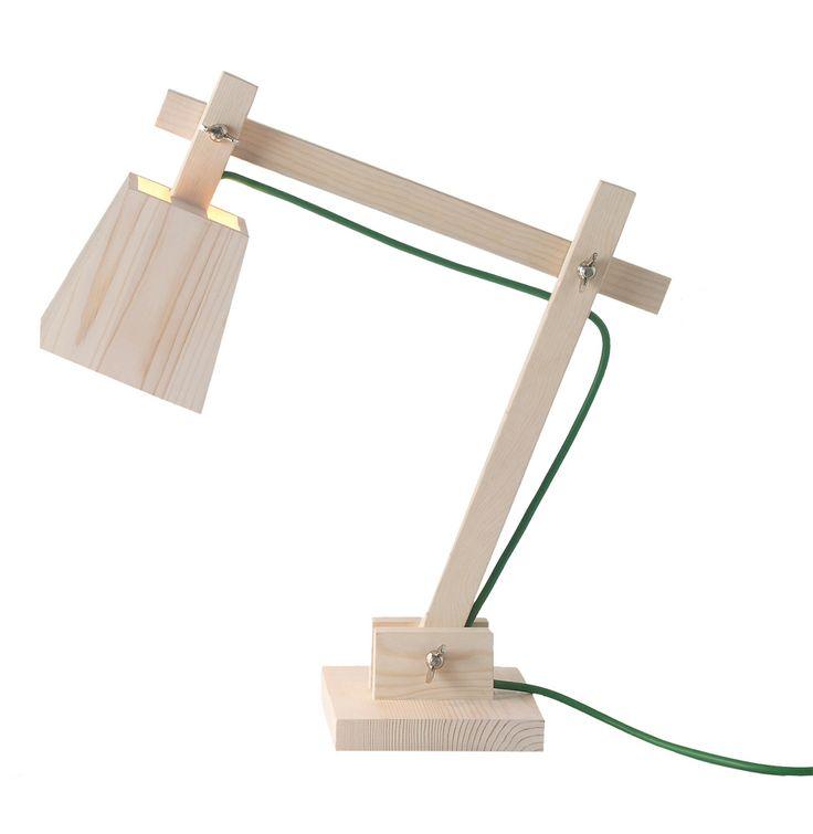 Lampe de bureau Wood Lamp