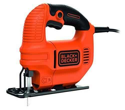 Black + Decker KS501 Scie sauteuse avec lame 400 W: Price:25.99Scie sauteuse électrique – Puissance : 400W – Capacité de coupe : 65mm –…