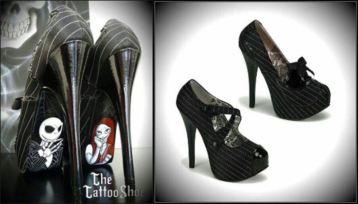 Nightmare Before Christmas heels