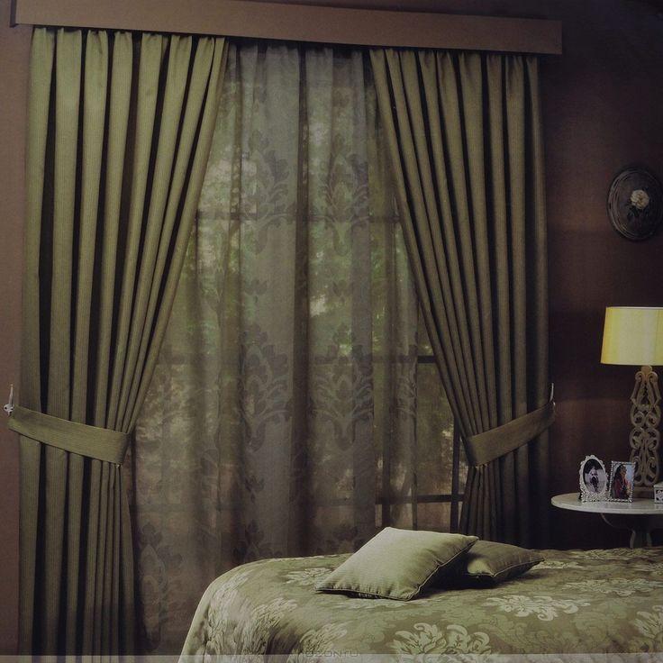 """Комплект штор ТАС """"Ravelle"""", на ленте, цвет: светло-зеленый, высота 270 см по выгодной цене с доставкой от интернет-магазина Ozon.ru. Отзывы покупателей о комплект штор тас """"ravelle"""", на ленте, цвет: светло-зеленый, высота 270 см."""