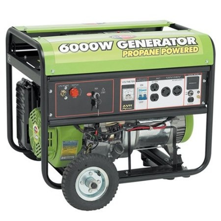 COLORFUL CANARY: Friday Finds: Detailed review of our new All Power America 6000w Propane Generator