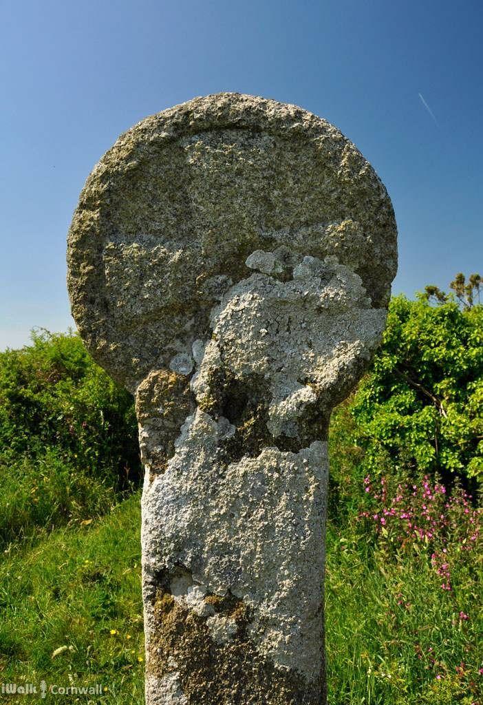 Wayside cross at Trewethern