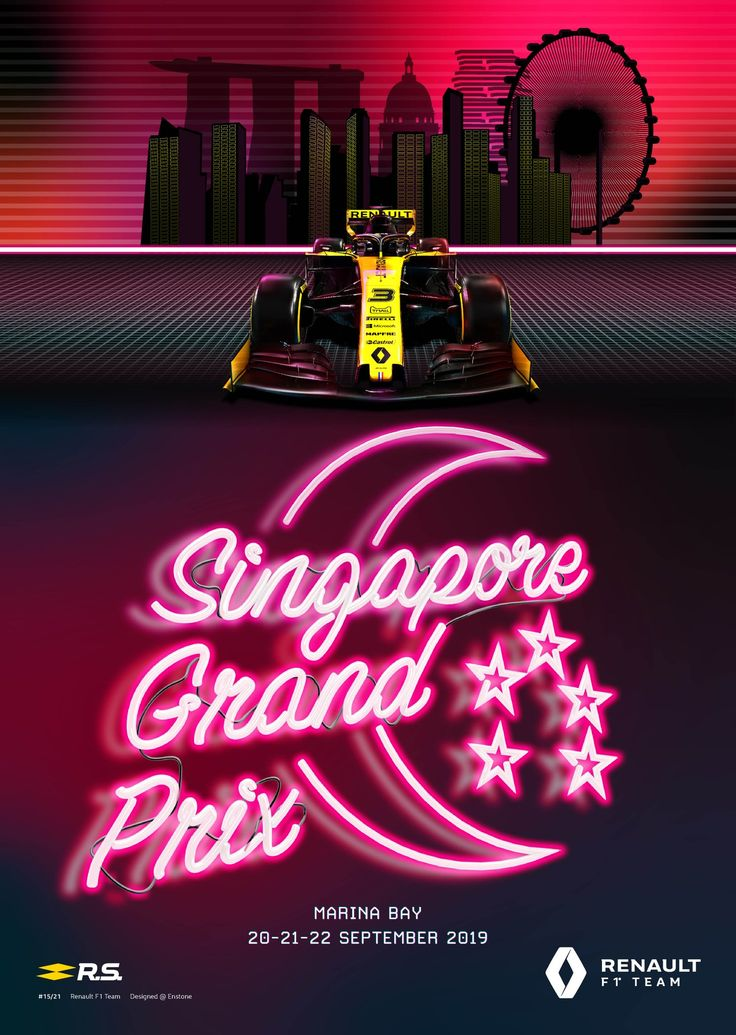 Pin by Some Guy on F1 2019 Singapore grand prix, Renault