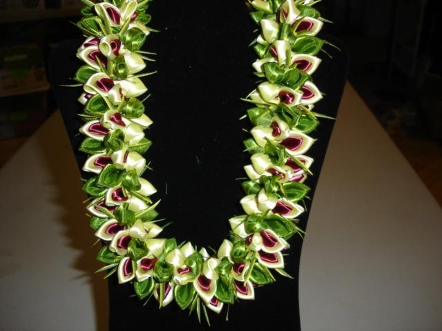 Tracy S Merrie Monarch Choker Ribbon Leis Pinterest