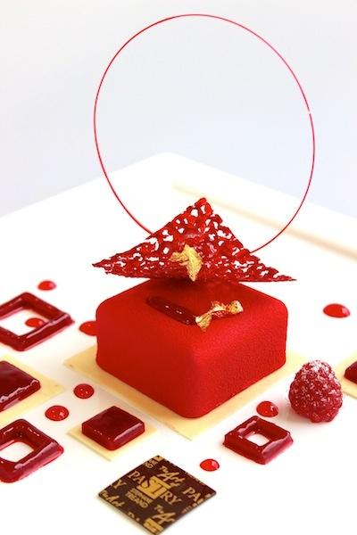 Quand le rouge se décline artistiquement dans l'assiette #sucrelaperruche