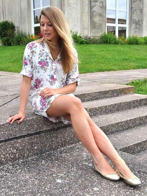 Robe Best Mountain - Ballerines Hirica Zoelia dorées