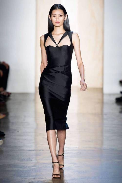 black dress on valentine's day