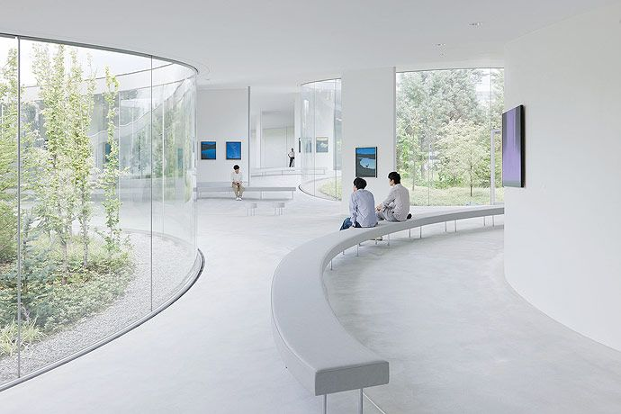 Modern Architecture: Amazing Hiroshi Senju Museum by Ryue Nishizawa © Iwan Baan Click the picture for more!