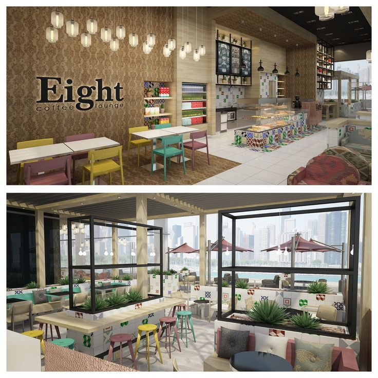 Turkish influenced design for Eight Cafe Dubai