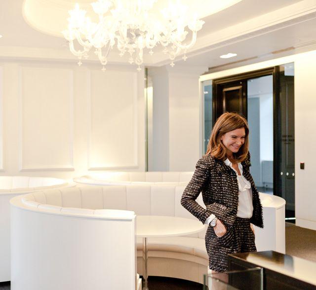 Natalie Massenet in NET-A-PORTER.COM's new Manhattan offices #Work
