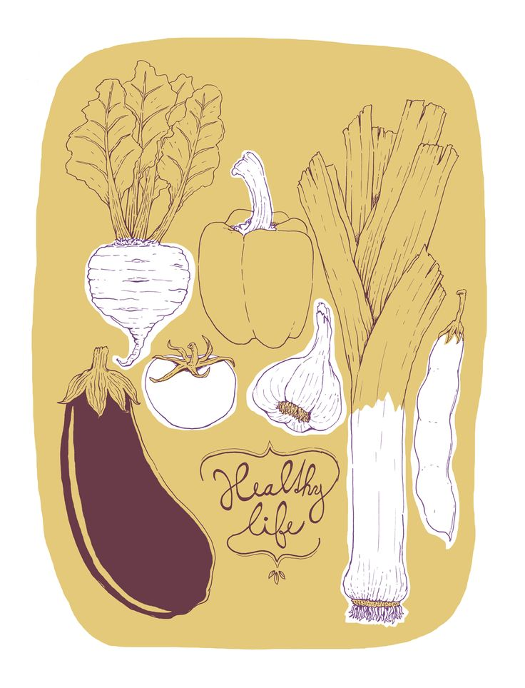Vegetable poster by Dolynda.cz