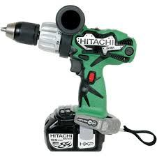 Hitachi Lithium Ion 18v Cordless Drill | Saws and Scraps