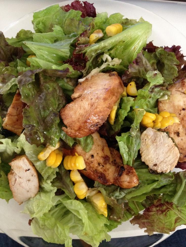 My version of Cobb salad