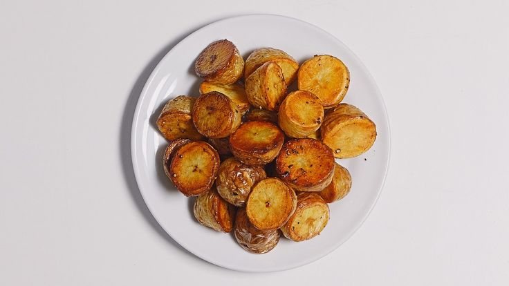 This genius steam-then-roast method produces perfect potatoes every time. Starting with medium-small Yukon golds (about 2