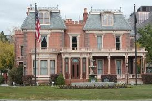 Haunt in Deveraux Mansion Salt Lake City, Utah is haunted! Haunted places in Salt Lake City, UT (Utah) from Hauntings