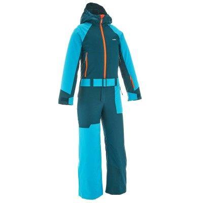 Deportes de Nieve Deportes de Invierno - MONO ESQUÍ 500 NIÑOS AZUL WED'ZE - Ropa de esquí niños